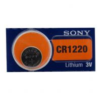 Sony Lithium Watch Batteries / Coin Cells - CR1220